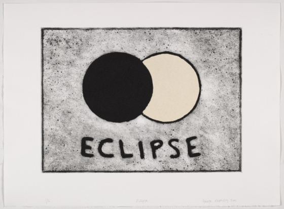 "Eclipse<br /><br />Medium: Collograph, chine colle Framed<br />Price: $1,100<br /><a href=""Artwork-Matoulas-Eclipse-2853.htm"">View full artwork details</a>"