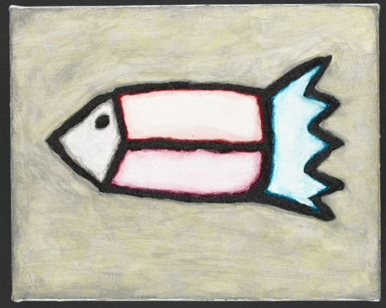 "Fish<br /><br />Medium: Acrylic on canvas Framed<br />Price: $1,200<br /><a href=""Artwork-Matoulas-Fish-2862.htm"">View full artwork details</a>"