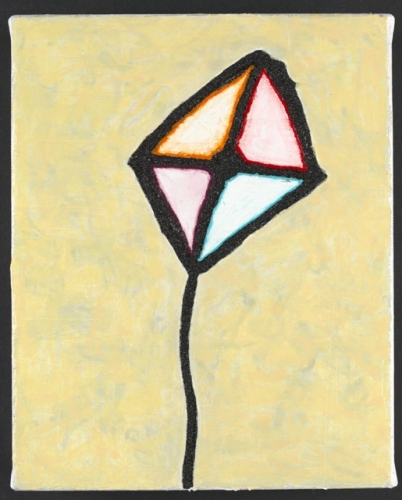 "Kite<br /><br />Medium: Acrylic on canvas<br />Price: $1,000<br /><a href=""Artwork-Matoulas-Kite-2866.htm"">View full artwork details</a>"
