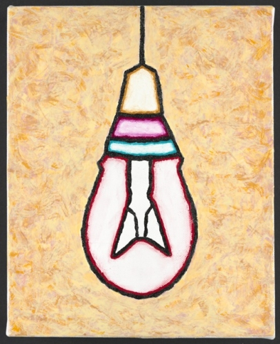 "Light Bulb<br /><br />Medium: Acrylic on canvas<br />Price: $1,000<br /><a href=""Artwork-Matoulas-LightBulb-2859.htm"">View full artwork details</a>"