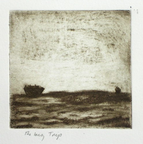 "<h4 style=""margin:0px 0px 5px 0px"">The Big Trip</h4>Medium: Etching<br />Price: $120 