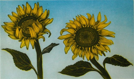 "<h4 style=""margin:0px 0px 5px 0px"">Sunflowers</h4>Medium: Etching<br />Price: $680 