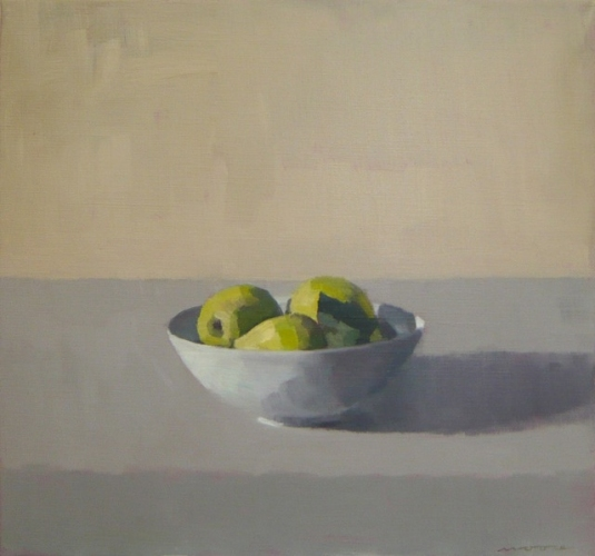 Bowl of Quinces 1 by David Moore