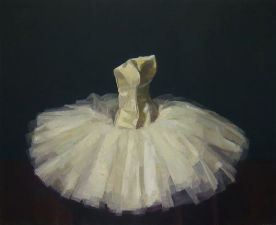 "<h4 style=""margin:0px 0px 5px 0px;"">Dancers White Bell Tutu</h4>Medium: OIl on linen framed<br />Price: Sold <span style=""color:#aaa"">