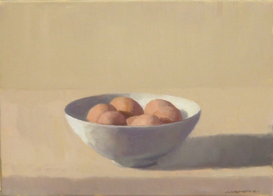 "<h4 style=""margin:0px 0px 5px 0px;"">Eggs in a bowl</h4>Medium: Oil on linen framed<br />Price: $2,200 <span style=""color:#aaa"">