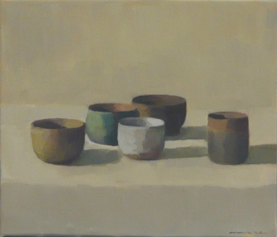 Pots - Still Life by David Moore