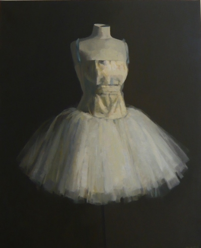 "<h4 style=""margin:0px 0px 5px 0px;"">Romantic Tutu and mannequin</h4>Medium: Oil on linen framed<br />Price: Sold <span style=""color:#aaa"">