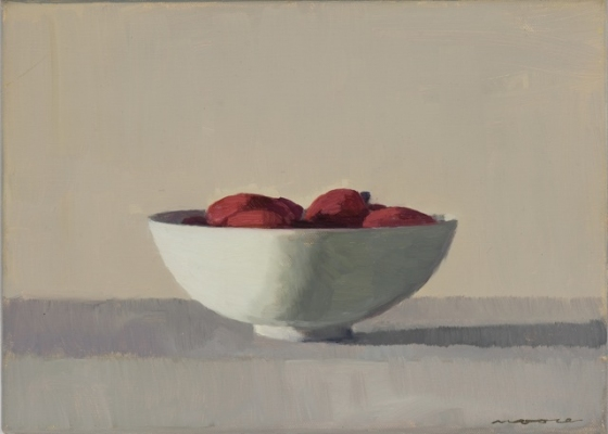 "<h4 style=""margin:0px 0px 5px 0px;"">Tamarillos</h4>Medium: oil on linen framed<br />Price: $2,400 <span style=""color:#aaa"">