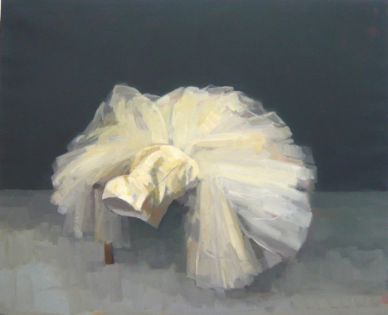 "<h4 style=""margin:0px 0px 5px 0px;"">Tulle and Satin</h4>Medium: Oil on linen framed<br />Price: Sold <span style=""color:#aaa"">