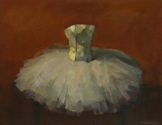 "<h4 style=""margin:0px 0px 5px 0px;"">Tutu Study</h4>Medium: Oil on linen, framed<br />Price: Sold <span style=""color:#aaa"">