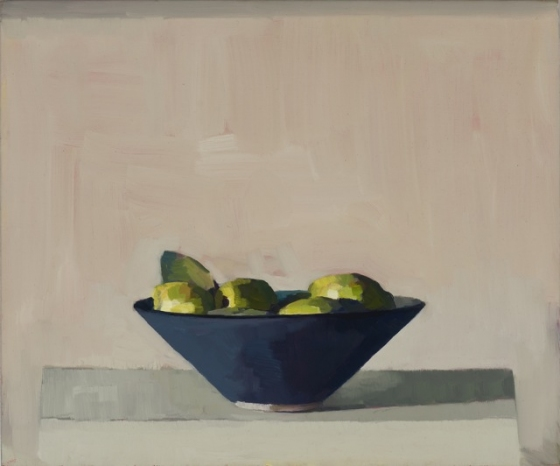 "<h4 style=""margin:0px 0px 5px 0px"">Blue bowl with quinces by David Moore</h4>Medium: Oil on linen framed<br />Price: Sold<span class=""helptip"" style=""color:#ff0000;"" title=""This artwork been sold""><img src=""/images/reddot1.gif"" border=""0"" height=""10"" /></span> 