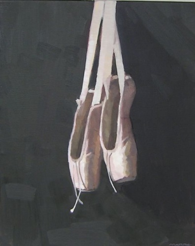 "<h4 style=""margin:0px 0px 5px 0px"">Bridies Shoes 3 by David Moore</h4>Medium: Oil on linen<br />Price: Sold<span class=""helptip"" style=""color:#ff0000;"" title=""This artwork been sold""><img src=""/images/reddot1.gif"" border=""0"" height=""10"" /></span> 