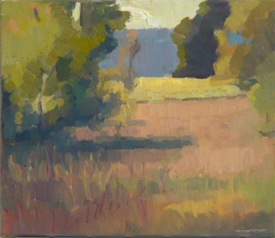 "<h4 style=""margin:0px 0px 5px 0px"">Evening Shadows Flinders Ranges by David Moore</h4>Medium: Oil on linen framed<br />Price: $2,000 