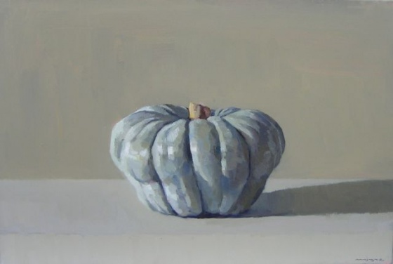 "<h4 style=""margin:0px 0px 5px 0px"">Pumpkin #4 by David Moore</h4>Medium: Oil on linen<br />Price: Sold<span class=""helptip"" style=""color:#ff0000;"" title=""This artwork been sold""><img src=""/images/reddot1.gif"" border=""0"" height=""10"" /></span> 