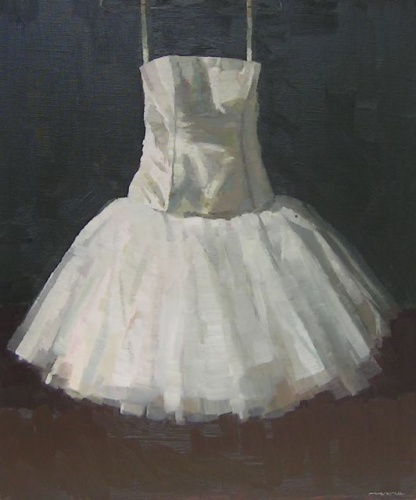 "<h4 style=""margin:0px 0px 5px 0px"">Study for Amys Dress by David Moore</h4>Medium: Oil on linen<br />Price: Sold<span class=""helptip"" style=""color:#ff0000;"" title=""This artwork been sold""><img src=""/images/reddot1.gif"" border=""0"" height=""10"" /></span> 