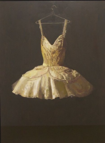 "<h4 style=""margin:0px 0px 5px 0px"">Tutu for Miettes by David Moore</h4>Medium: Oil on linen Framed<br />Price: Sold<span class=""helptip"" style=""color:#ff0000;"" title=""This artwork been sold""><img src=""/images/reddot1.gif"" border=""0"" height=""10"" /></span> 