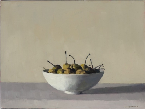 "<h4 style=""margin:0px 0px 5px 0px"">Wild Pears II by David Moore</h4>Medium: Oil on linen Framed<br />Price: Sold<span class=""helptip"" style=""color:#ff0000;"" title=""This artwork been sold""><img src=""/images/reddot1.gif"" border=""0"" height=""10"" /></span> 