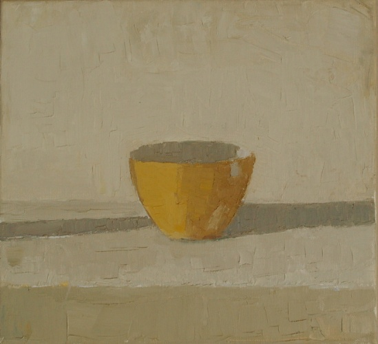 "<h4 style=""margin:0px 0px 5px 0px"">Yellow Cup by David Moore</h4>Medium: Oil on linen<br />Price: Sold<span class=""helptip"" style=""color:#ff0000;"" title=""This artwork been sold""><img src=""/images/reddot1.gif"" border=""0"" height=""10"" /></span> 