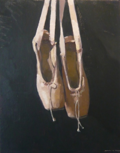 "<h4 style=""margin:0px 0px 5px 0px"">en pointe by David Moore</h4>Medium: Oil on linen<br />Price: Sold<span class=""helptip"" style=""color:#ff0000;"" title=""This artwork been sold""><img src=""/images/reddot1.gif"" border=""0"" height=""10"" /></span> 
