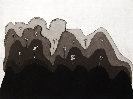 "Yunurrl Country<br /><br />Medium: Etching<br />Price: $450<br /><a href=""Artwork-MungMung-YunurrlCountry-352.htm"">View full artwork details</a>"