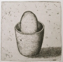 "<h4 style=""margin:0px 0px 5px 0px"">The gardeners bird by Jiri Tibor Novak</h4>Medium: Etching<br />Price: $260 