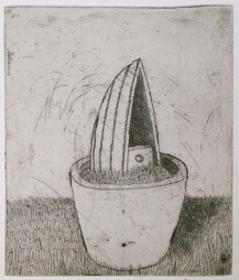 "<h4 style=""margin:0px 0px 5px 0px"">The gardeners little voyage I by Jiri Tibor Novak</h4>Medium: Etching<br />Price: $260 