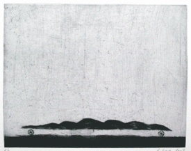 "<h4 style=""margin:0px 0px 5px 0px"">The gardeners rolling hills by Jiri Tibor Novak</h4>Medium: Etching<br />Price: $360 