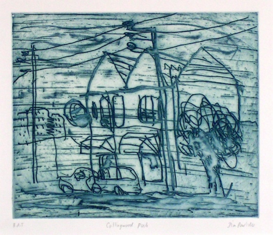 "<h4 style=""margin:0px 0px 5px 0px"">Collingwood Pub</h4>Medium: Etching<br />Price: $400 