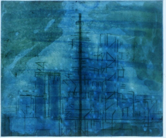 "<h4 style=""margin:0px 0px 5px 0px"">Pre Dawn</h4>Medium: Etching<br />Price: $400 