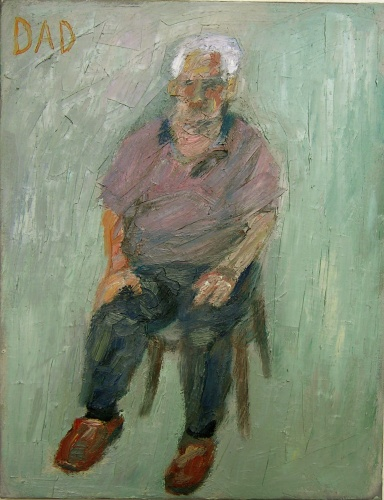 "<h4 style=""margin:0px 0px 5px 0px"">Dad by Jim Pavlidis</h4>Medium: Oil on canvas<br />Price: Sold<span class=""helptip"" style=""color:#ff0000;"" title=""This artwork been sold""><img src=""/images/reddot1.gif"" border=""0"" height=""10"" /></span> 