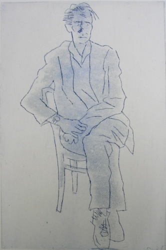 "<h4 style=""margin:0px 0px 5px 0px"">Leigh by Jim Pavlidis</h4>Medium: Etching<br />Price: $400 