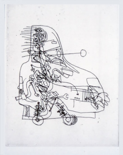 "<h4 style=""margin:0px 0px 5px 0px"">Car Man</h4>Medium: Etching<br />Price: $380 