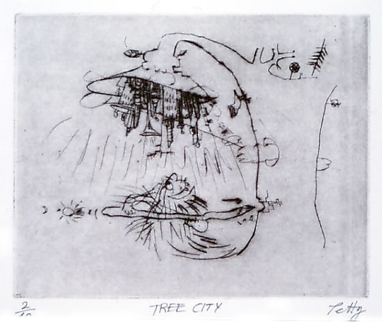 "<h4 style=""margin:0px 0px 5px 0px"">Tree City</h4>Medium: Drypoint<br />Price: $220 