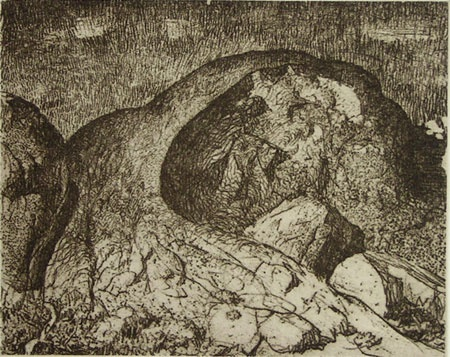 "<h4 style=""margin:0px 0px 5px 0px"">Landscape</h4>Medium: Etching<br />Price: Sold 