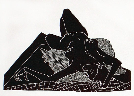 "<h4 style=""margin:0px 0px 5px 0px"">Nikky</h4>Medium: Linocut<br />Price: $360 