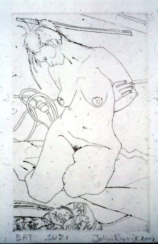 "<h4 style=""margin:0px 0px 5px 0px"">Suzi</h4>Medium: Etching<br />Price: $300 