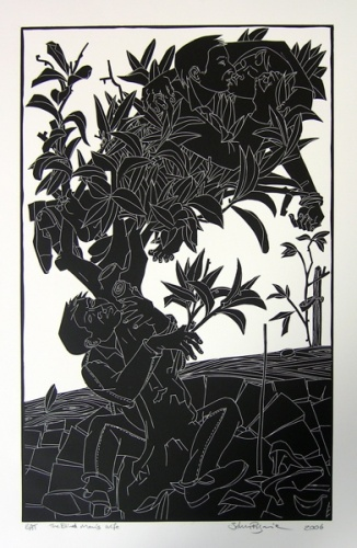 "<h4 style=""margin:0px 0px 5px 0px"">The Blind Mans Wife</h4>Medium: Linocut<br />Price: $550 