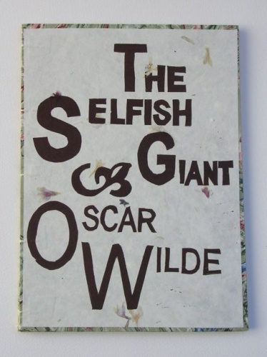 "<h4 style=""margin:0px 0px 5px 0px;""> The Selfish Giant (cover)</h4>Medium: Linocut & Text Inkjet<br />Price: $1,500 <span style=""color:#aaa"">