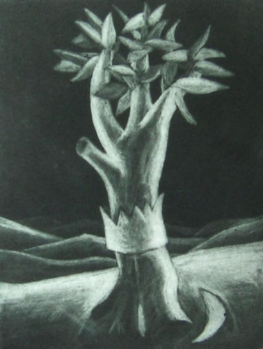 "<h4 style=""margin:0px 0px 5px 0px"">The Would be Monarch</h4>Medium: Mezzotint<br />Price: $250 
