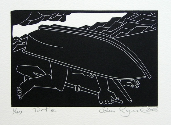 "<h4 style=""margin:0px 0px 5px 0px"">Turtle</h4>Medium: Linocut<br />Price: $280 