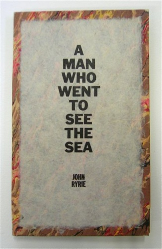 "<h4 style=""margin:0px 0px 5px 0px"">A man who went to see the sea (cover) by John Ryrie</h4>Medium: Linocut (handcoloured)<br />Price: $1,000 