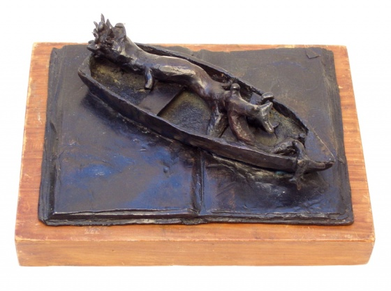 "<h4 style=""margin:0px 0px 5px 0px"">Narrative by John Ryrie</h4>Medium: Bronze<br />Price: $2,100 