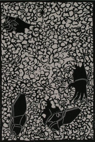 "<h4 style=""margin:0px 0px 5px 0px""> The Selfish Giant #6 by John Ryrie</h4>Medium: Linocut<br />Price: $330 