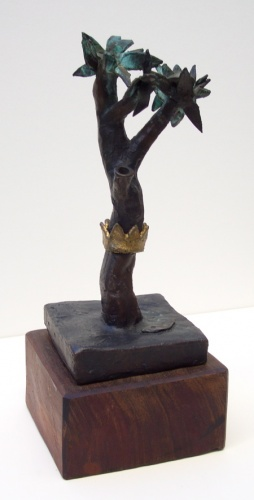 "<h4 style=""margin:0px 0px 5px 0px"">The Would be Monarch by John Ryrie</h4>Medium: Bronze<br />Price: $2,100 