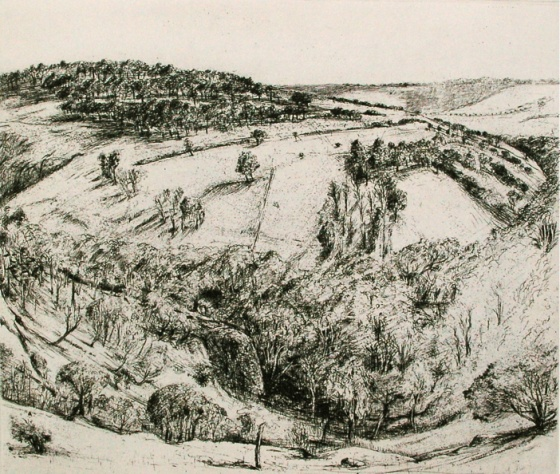 "<h4 style=""margin:0px 0px 5px 0px"">Organ pipes II</h4>Medium: Etching &amp; drypoint<br />Price: $625 