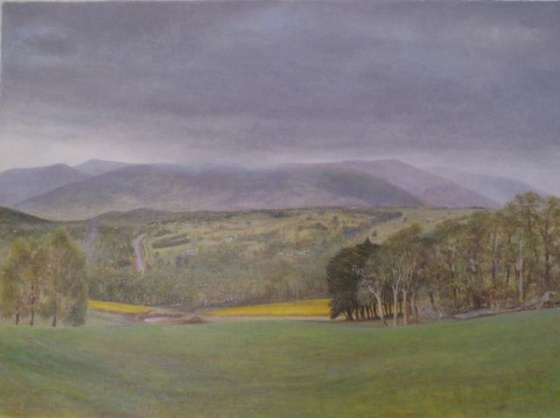 "<h4 style=""margin:0px 0px 5px 0px"">Wandin by John Scurry</h4>Medium: Oil on linen<br />Price: $5,800 