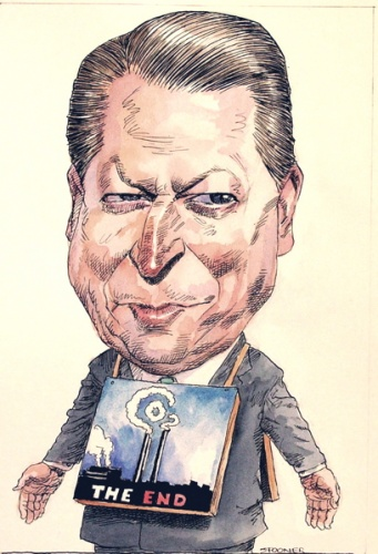 "<h4 style=""margin:0px 0px 5px 0px;"">Al Gore</h4>Medium: Ink &amp; watercolour<br />Price: Sold <span style=""color:#aaa"">