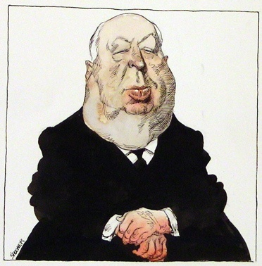 "<h4 style=""margin:0px 0px 5px 0px"">Alfred Hitchcock</h4>Medium: Pen &amp; ink &amp; watercolour<br />Price: Sold 