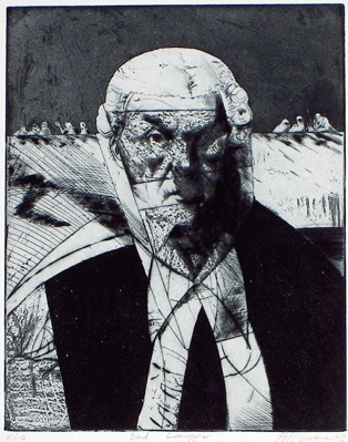 "<h4 style=""margin:0px 0px 5px 0px"">Bad Lawyer</h4>Medium: Etching<br />Price: $380 