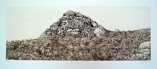 "<h4 style=""margin:0px 0px 5px 0px"">Iskra Crag</h4>Medium: Etching<br />Price: $600 